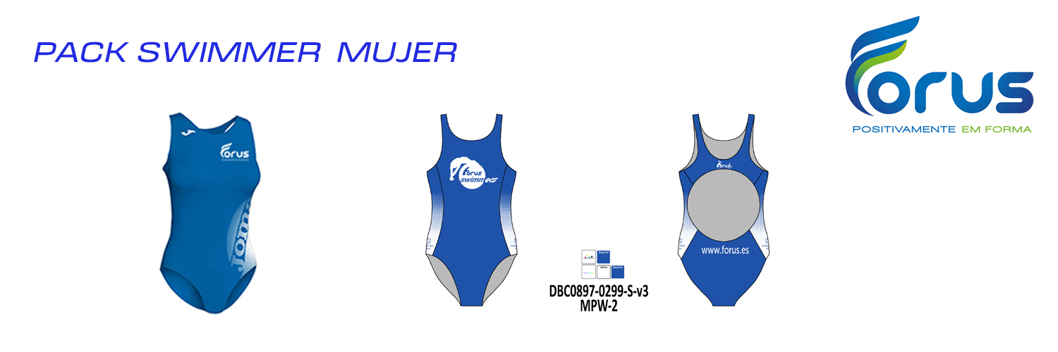 PACK SWIMMER MUJER  FORUS